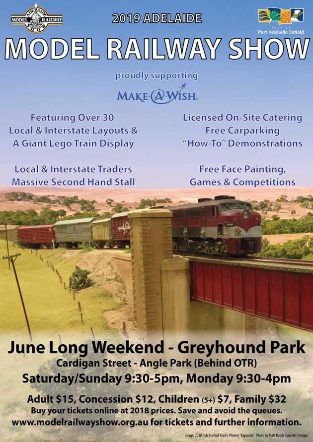 Exhibition Displays Adelaide : Adelaide model railway exhibition angle park jun