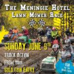 mowers at Meningie poster