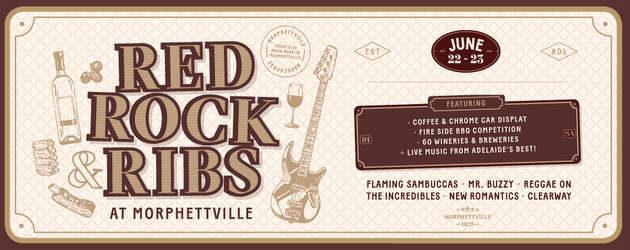 Red, Rock & Ribs | Morphettville | 22 & 23 June 2019