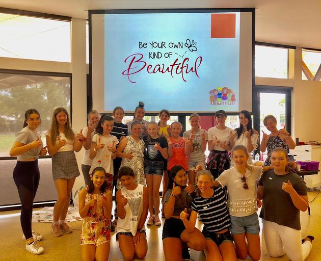 teen girl power workshop
