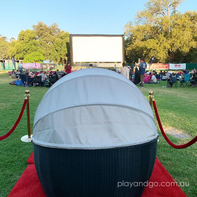 Lindor Bliss Suite Moonlight Cinema Adelaide