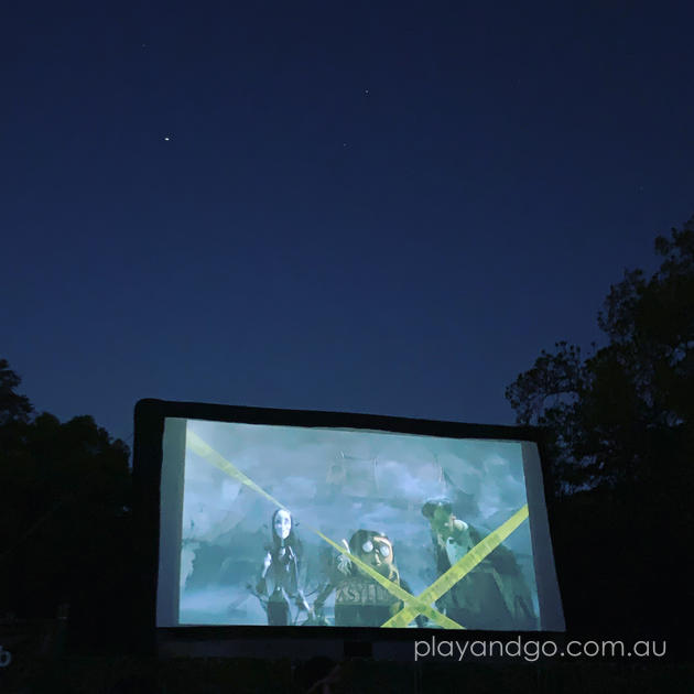 Moonlight Cinema Botanic Park Adelaide