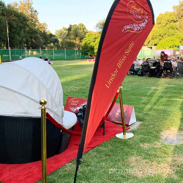 Moonlight Cinema Adelaide Lindor Bliss Suite