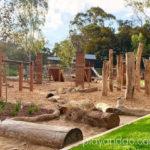 Heywood Park ninja playground