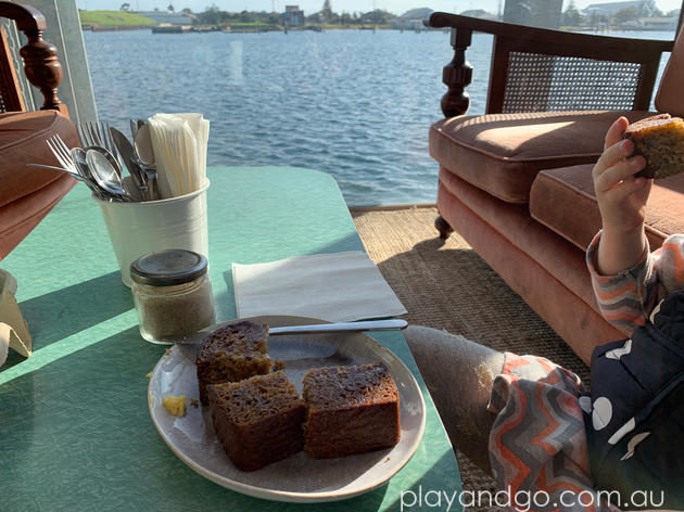 Folklore cafe Port Adelaide - coffee by the water Review by Susannah Marks