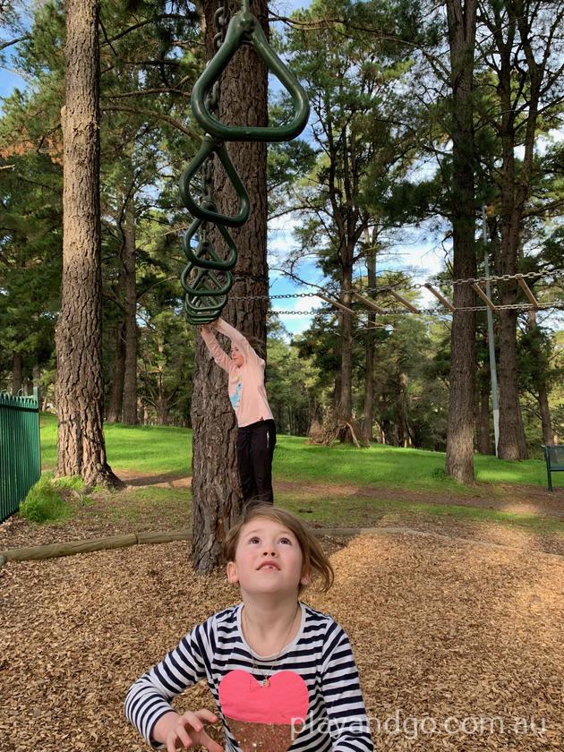Pine Reserve Aberfoyle Park, Adelaide playground