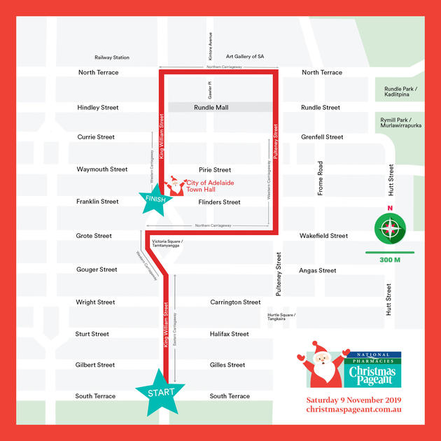 christmas pageant new route
