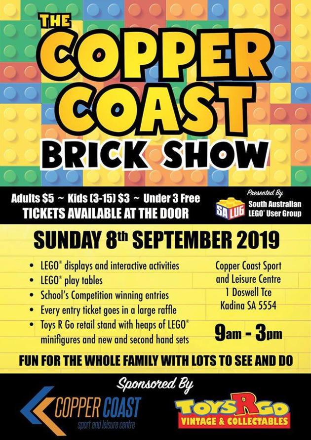 copper coast brick show