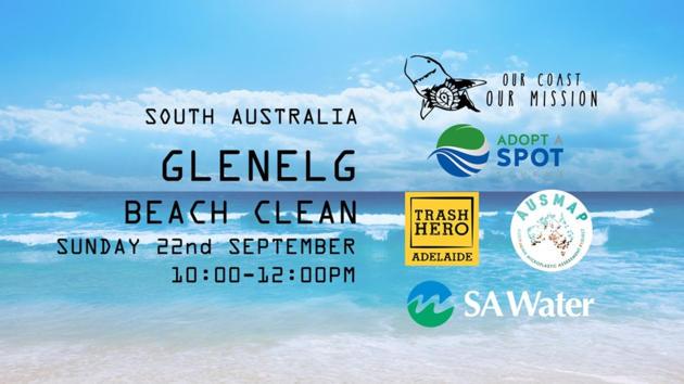 glenelg beach clean