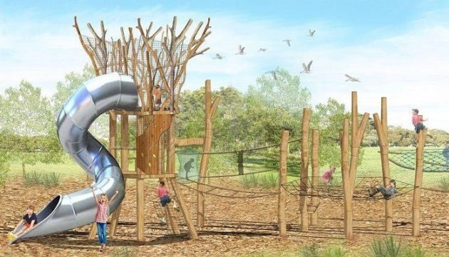 wilfred taylor nature playground adelaide south