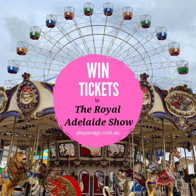 royal adelaide show win tickets