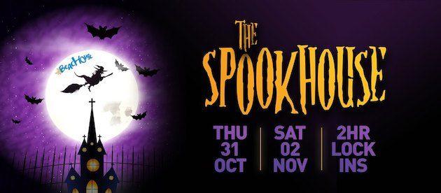 Halloween 30 Oktober.The Spookhouse Halloween Lock In The Beachouse 31 Oct