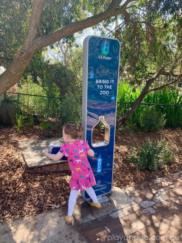 Adelaide Zoo Free Drinking Water