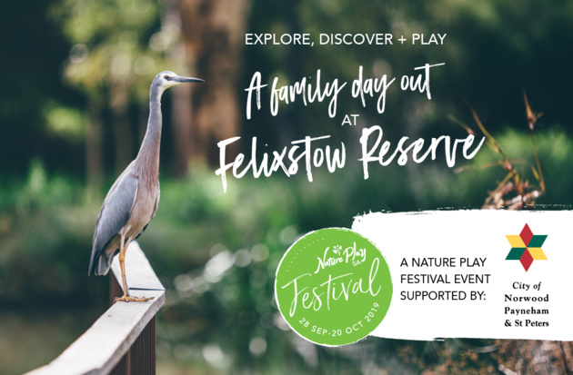 explore, discover, play at felixstow reserve