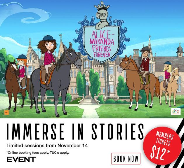 Alice-Miranda Friends Forever Event Cinemas