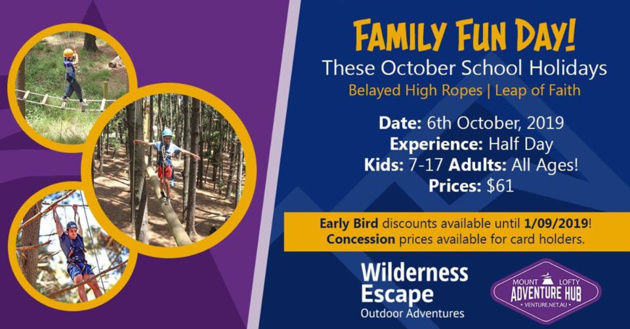 wilderness family fun day