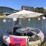 bbq boat adelaide torrens river