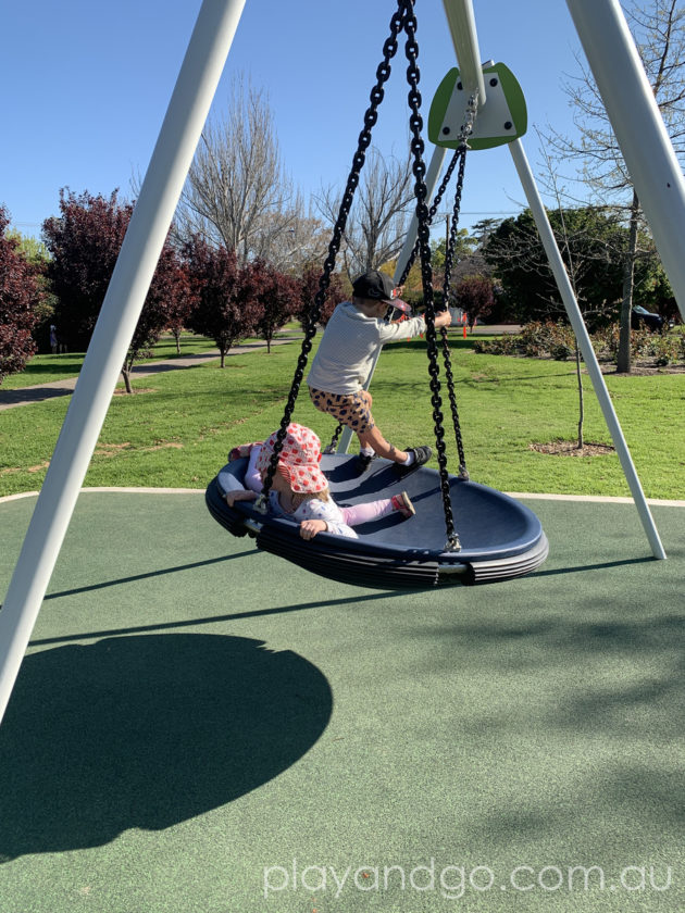 Fergusson Square, Toorak Gardens Playground Upgrade Review by Susannah Marks