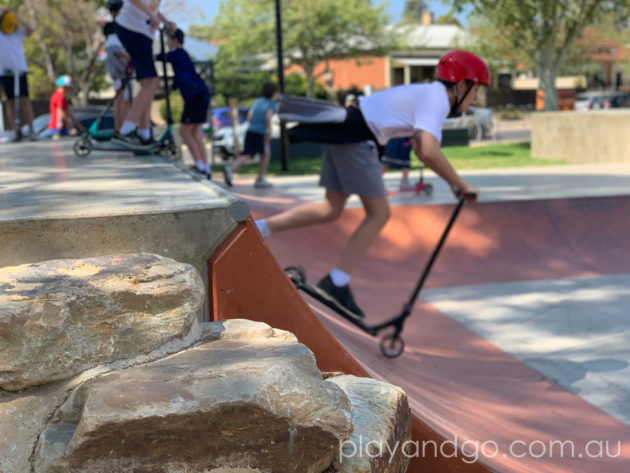 George Whittle Reserve and Skatepark, Prospect Review by Susannah Marks
