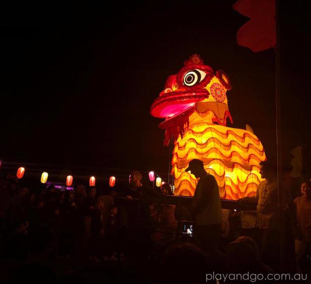 ozasia festival moon lantern parade