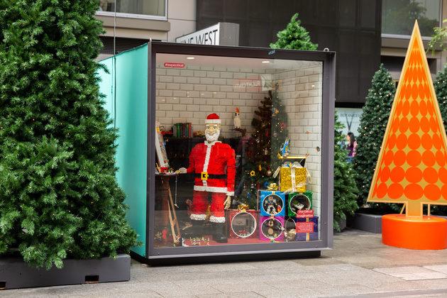 rundle mall christmas display