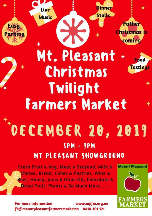 mt pleasant christmas twilight market