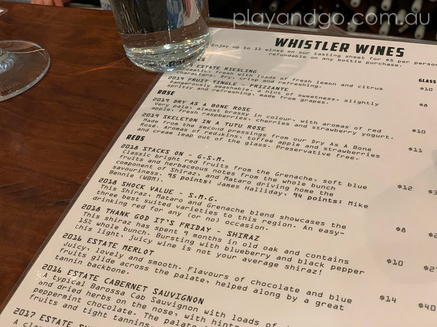 Whistler Wines Cellar Door Review by Susannah Marks