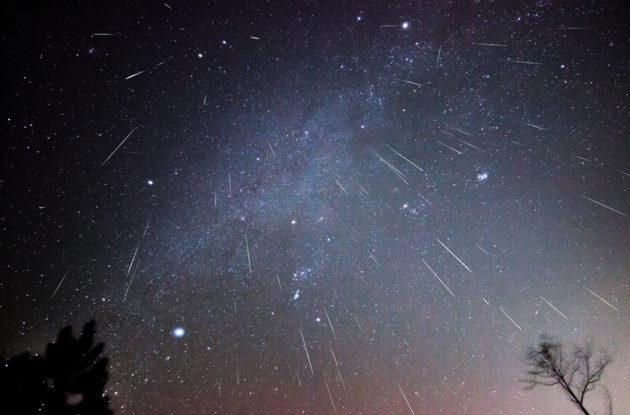 meteor shower adelaide