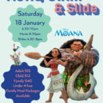 moana movie swim and slide