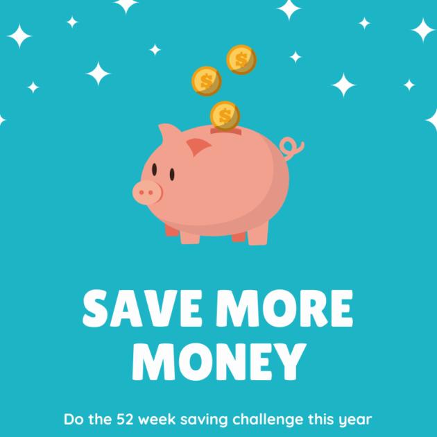 save money 52 week saving challenge