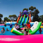 splash n bounce inflatable water park