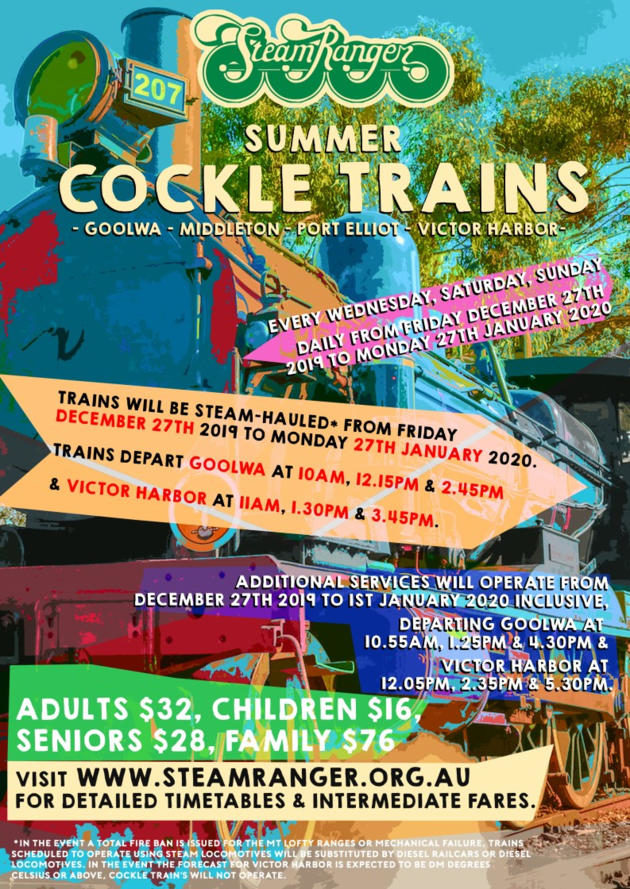summer cockle trains