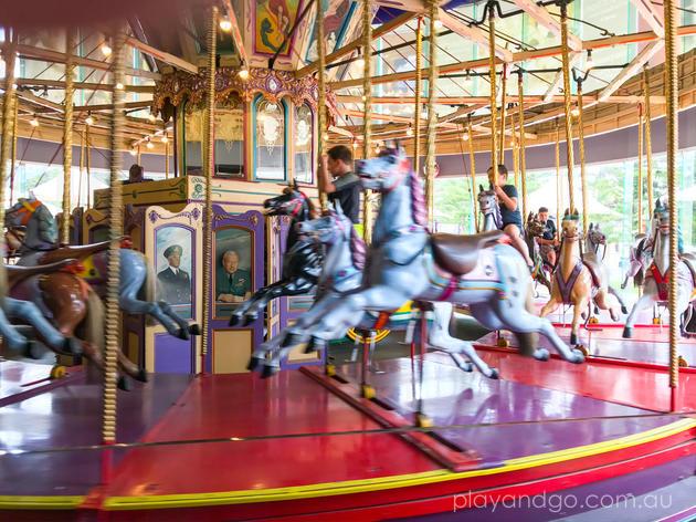 beachouse glenelg carousel