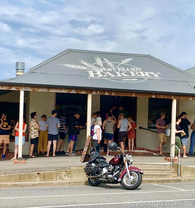 Port Elliot Bakery front