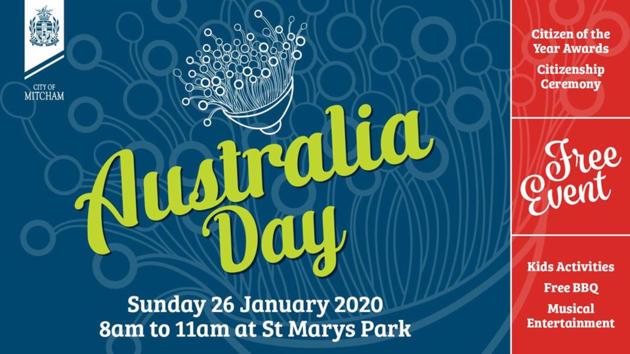 australia day at st marys park