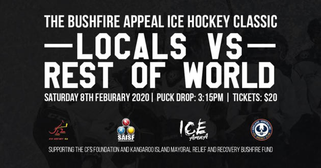 bushfire appeal hockey classic