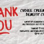 cudlee creek bushfire benefit concert
