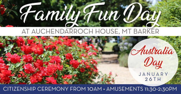 family fun day at auchendarroch house