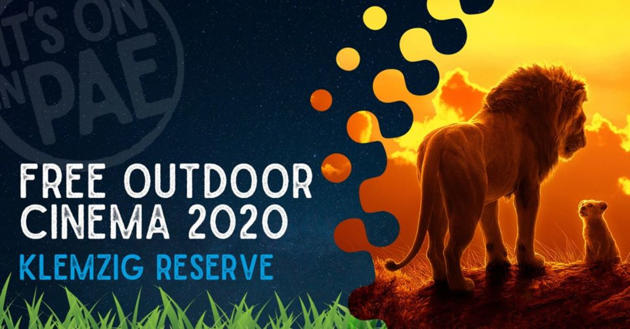 free outdoor cinema the lion king