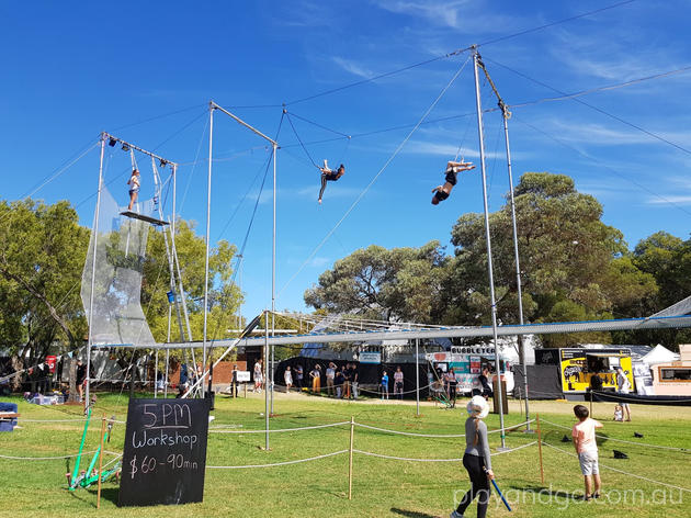 gluttony trapeze workshops