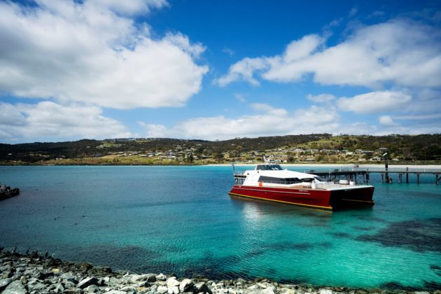kangaroo island connect ferry