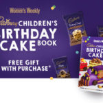 cadbury birthday cake book