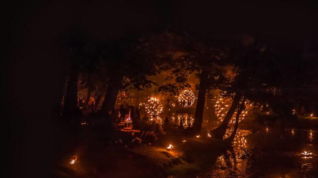 adelaide festival fire gardens