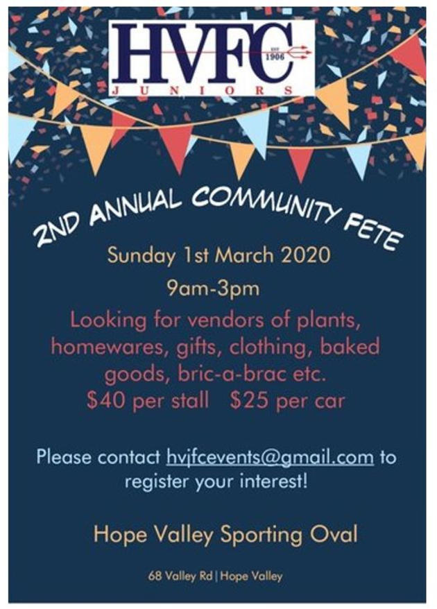 hope valley fete