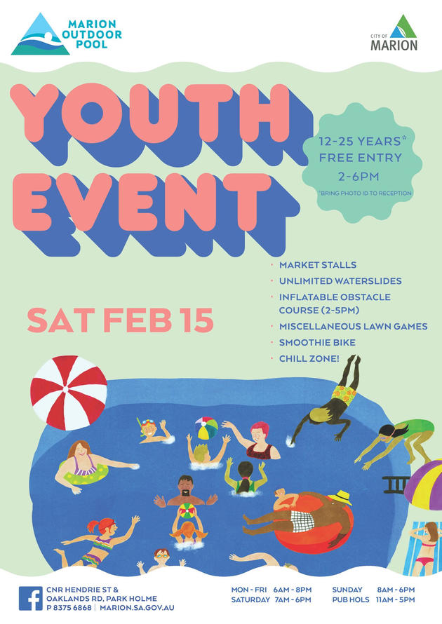 marion outdoor pool youth event
