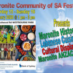 maronite community of sa festival