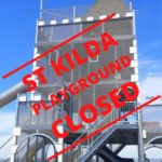 St Kilda Playground Closed coronavirus