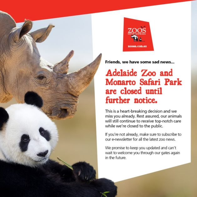 closing zoos