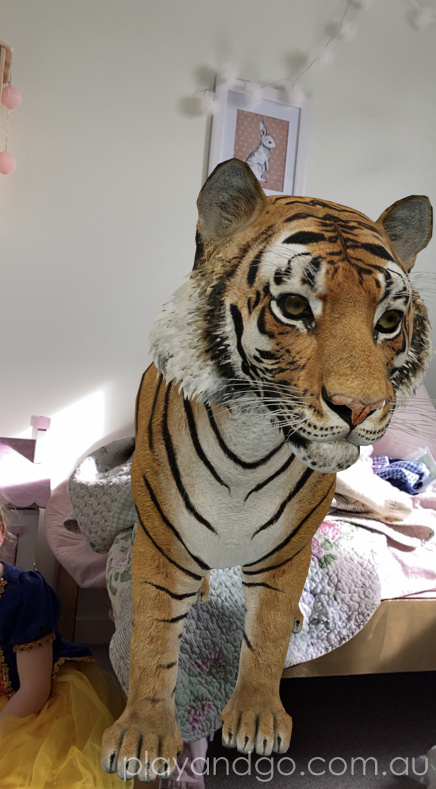 Google 3D animals augmented reality
