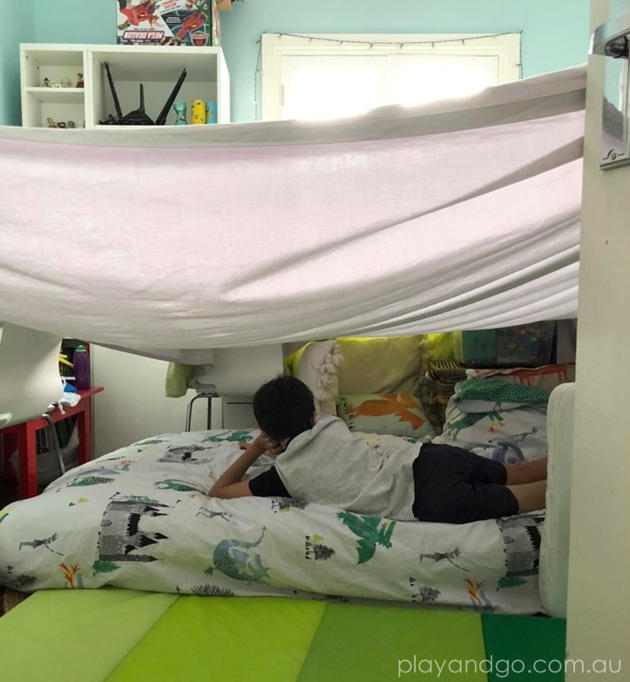 build a cubby fort